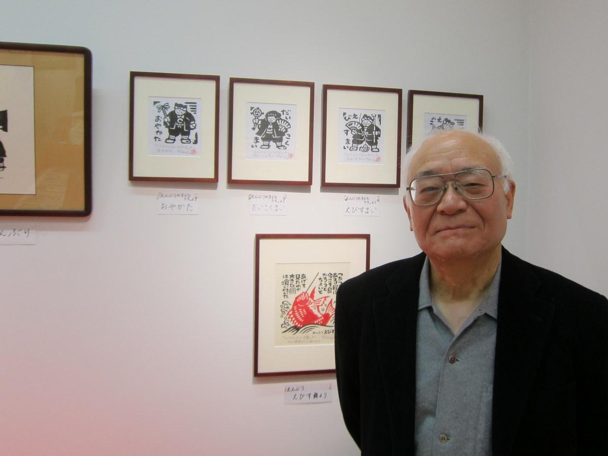 6年ぶりの藤田健次版画展