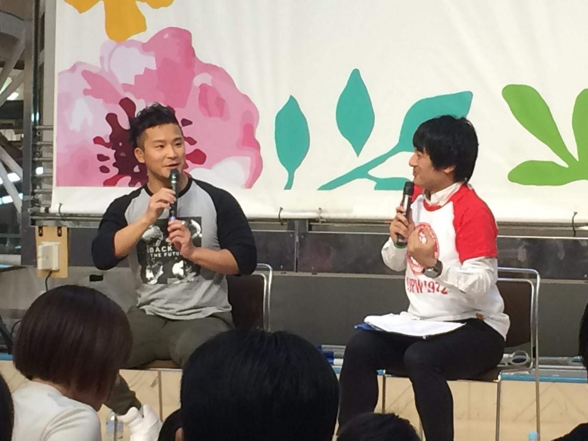 八戸で新日本プロレスKUSHIDA選手トークショー ジュニア八戸大会をPR
