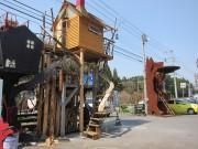 八戸のオブジェ工場に新ツリーハウス「犬見庵」 10年で10棟以上製作