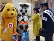 八戸で密輸撲滅街頭キャンペーン 税関と海上保安庁のマスコットキャラも一役