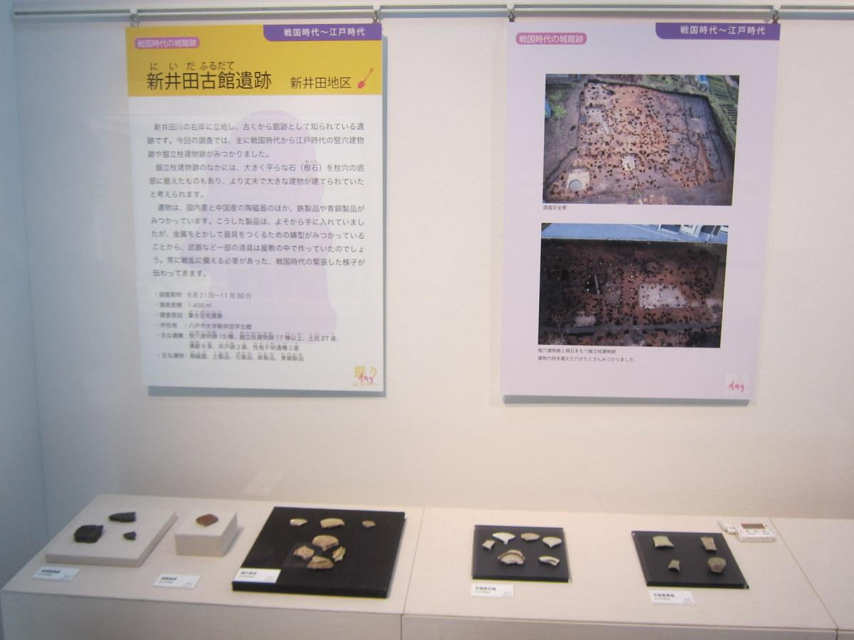 八戸是川縄文館で春季企画展