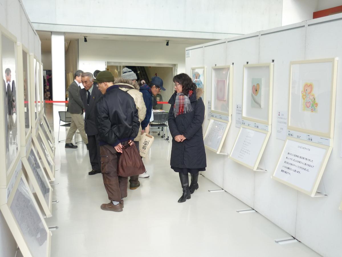 NHKハート展の様子