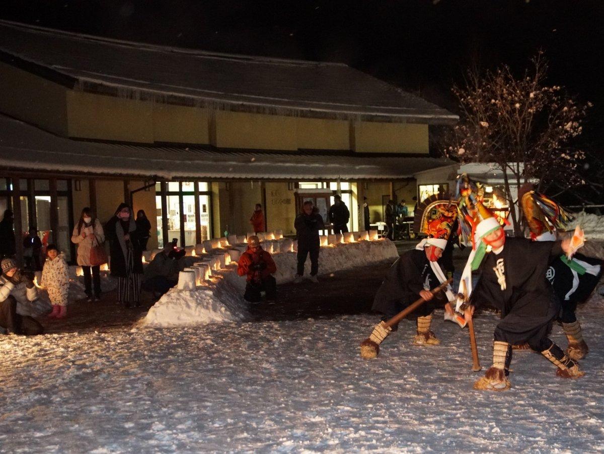 「南郷雪蛍祭り」