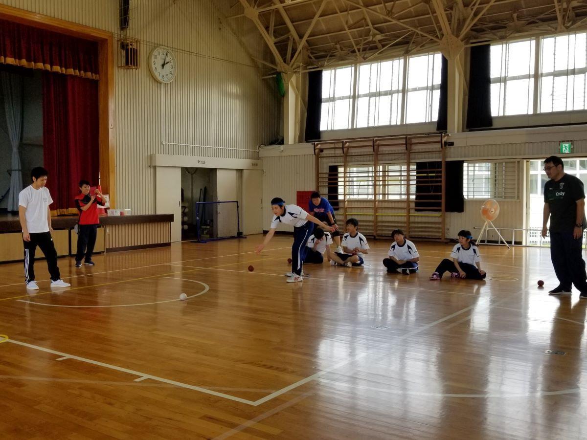 「障害者スポーツ体験学習会」