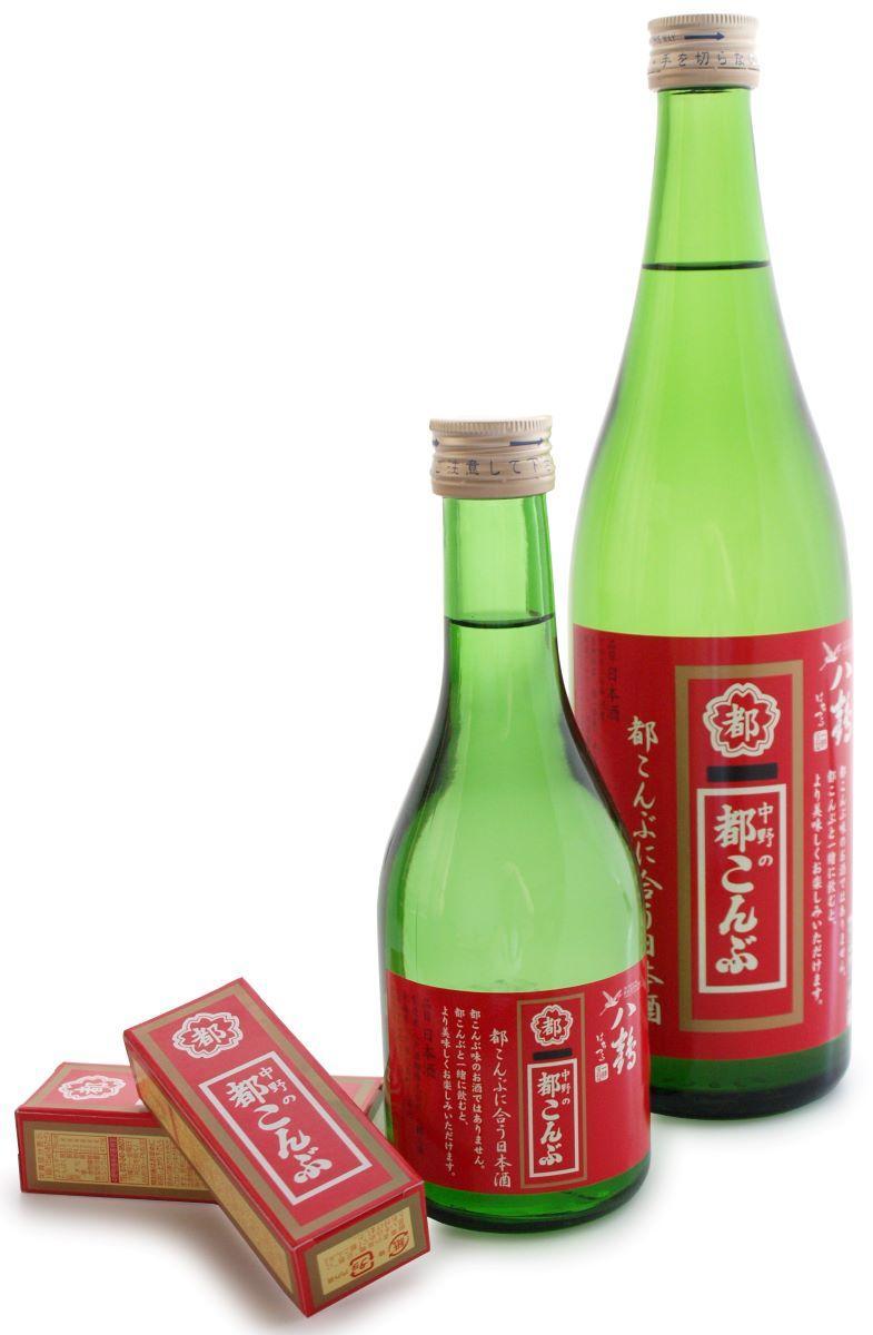 「八鶴 都こんぶに合う日本酒」