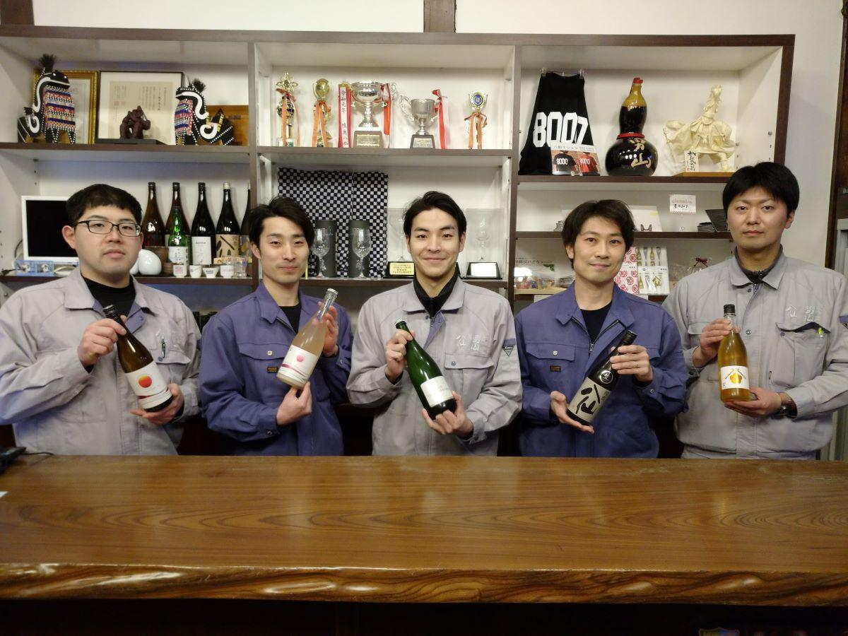 「八戸酒造」の若手蔵人が日本酒をプロデュース