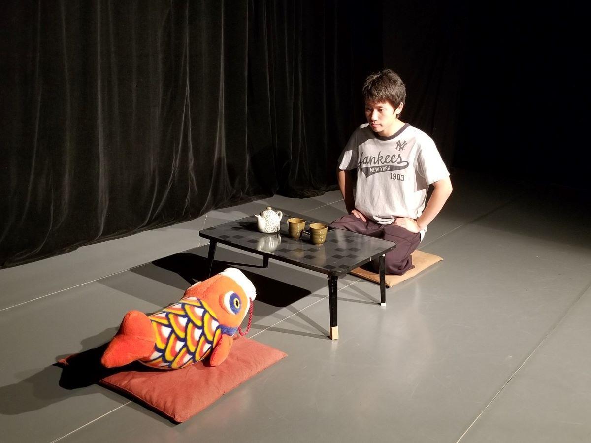 高坂大誠さんの一人芝居