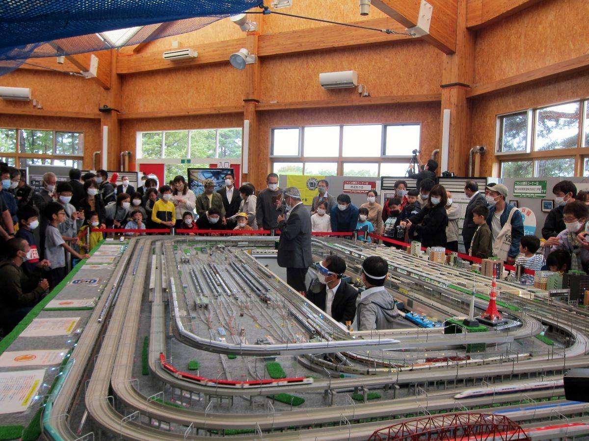 鉄道模型「Nゲージ」展