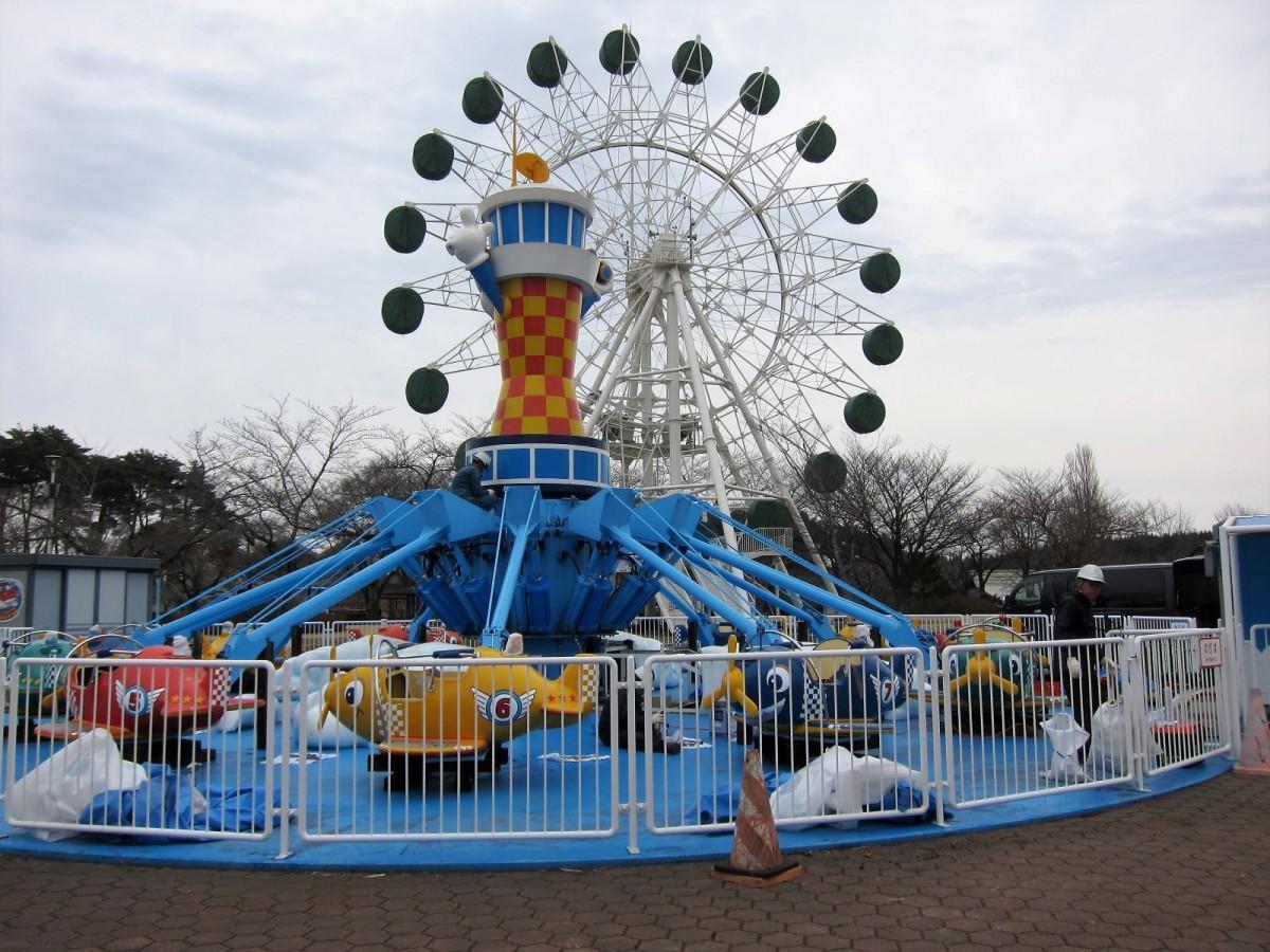 開園を控える八戸公園「こどもの国」遊園地ゾーン