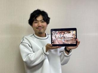 青森県の魅力を歌で伝える 古屋敷裕大さんが動画配信