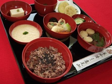 高尾山薬王院の精進料理