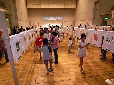 昨年の「Tシャツデザイン画100選」の模様