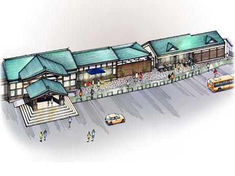 リニューアル後の高尾駅のイメージ