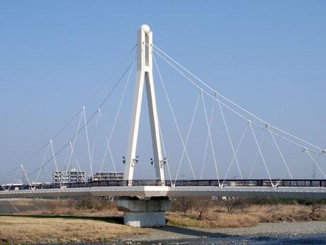 「エンジン」「14歳の母」など数多くのテレビドラマの舞台として使われている「万願寺歩道橋(通称ふれあい橋)」