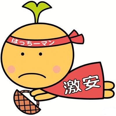 八王子綜合卸売協同組合のオリジナルキャラクターに決まった「はっちーマン」