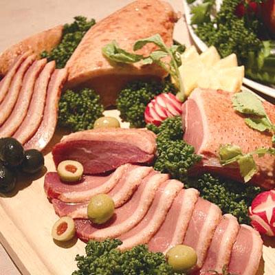 老舗洋食店「のがも乃家」が販売する「仔鴨胸肉の生ハム」