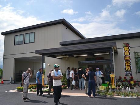 8月4日に開店した農産物直売所「ねぎぼうず」