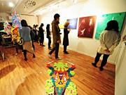 八王子に一軒家ギャラリー、デザイナーユニットが学生などに安価で貸し出し