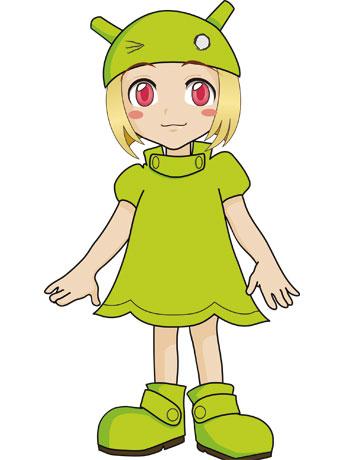 八王子オリジナルの新キャラクター「ドロイ子ちゃん」