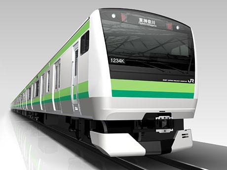 2014年度から導入される横浜線の新型車両