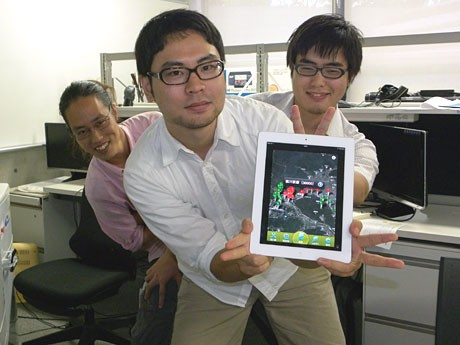 「SEKIGAHARA AR 第一幕 布陣・対峙」を開発した学生たち