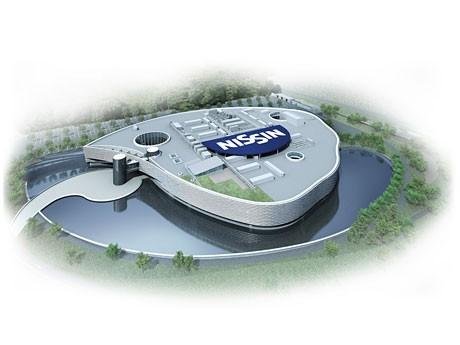 八王子市内に新設される研究所の鳥瞰(ちょうかん)図