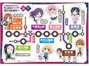 京王線とアニメ「ディーふらぐ!」がコラボ-キャラ名にちなんだ沿線巡り