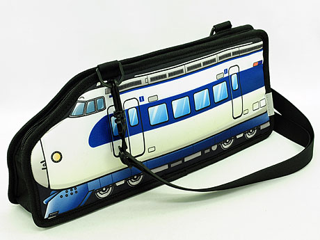 「0系新幹線」をデザインしたバッグ