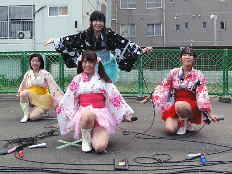東京工科大学の学生4人で活動する「ゆめ研」