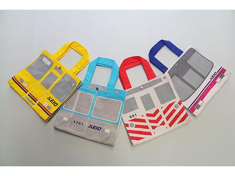 2月18日から販売が始まる「京王電鉄ミニトートバッグ」