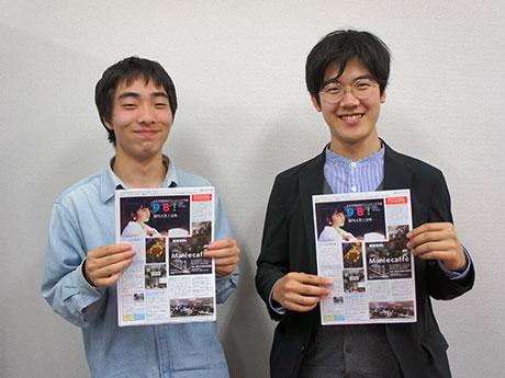 「98!」を立ち上げた藤島さん(左)と宋さん(右)