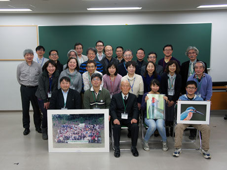 20周年記念シンポジウムに参加したメンバー