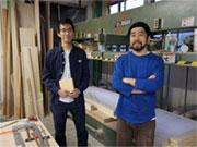 家具製作チーム「フルスイング」、拠点を八王子に移転 木を使った日用品も話題に
