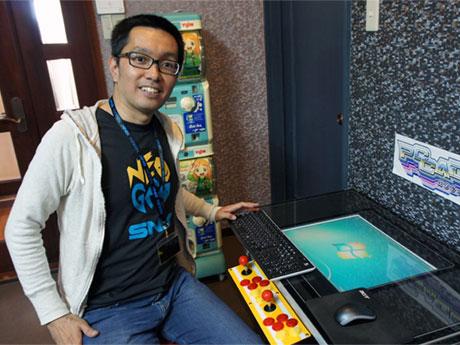 八王子発・古いアーケードゲーム機をパソコンに 販売開始に向け準備着々