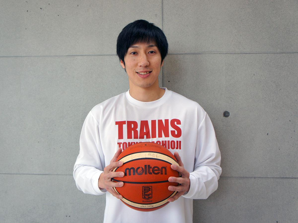 2月にキャプテンに就任した亀崎光博選手