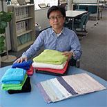 「繊維の街・八王子」PRへクラウドファンディング 独自開発のタオルを提供