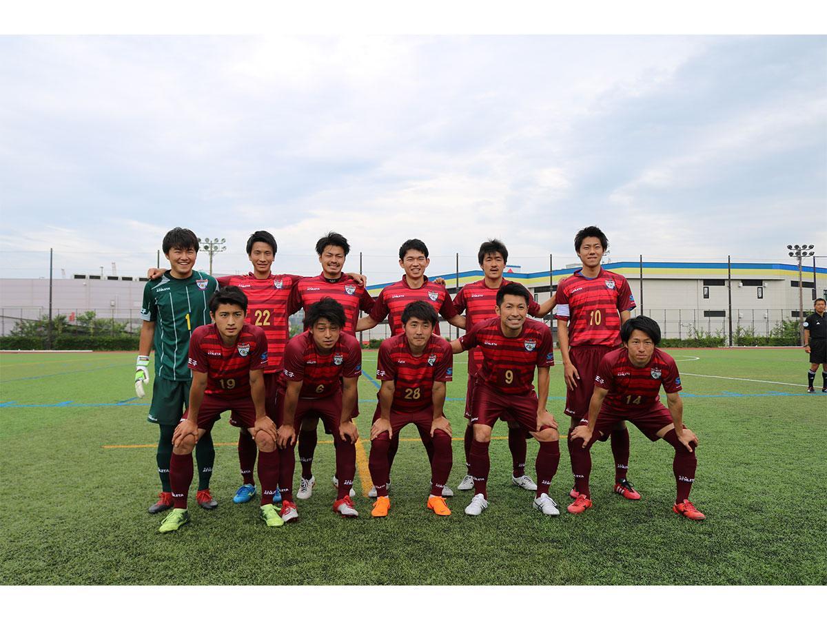 今シーズンから東京都社会人サッカーリーグ1部で戦っている「アローレ八王子」