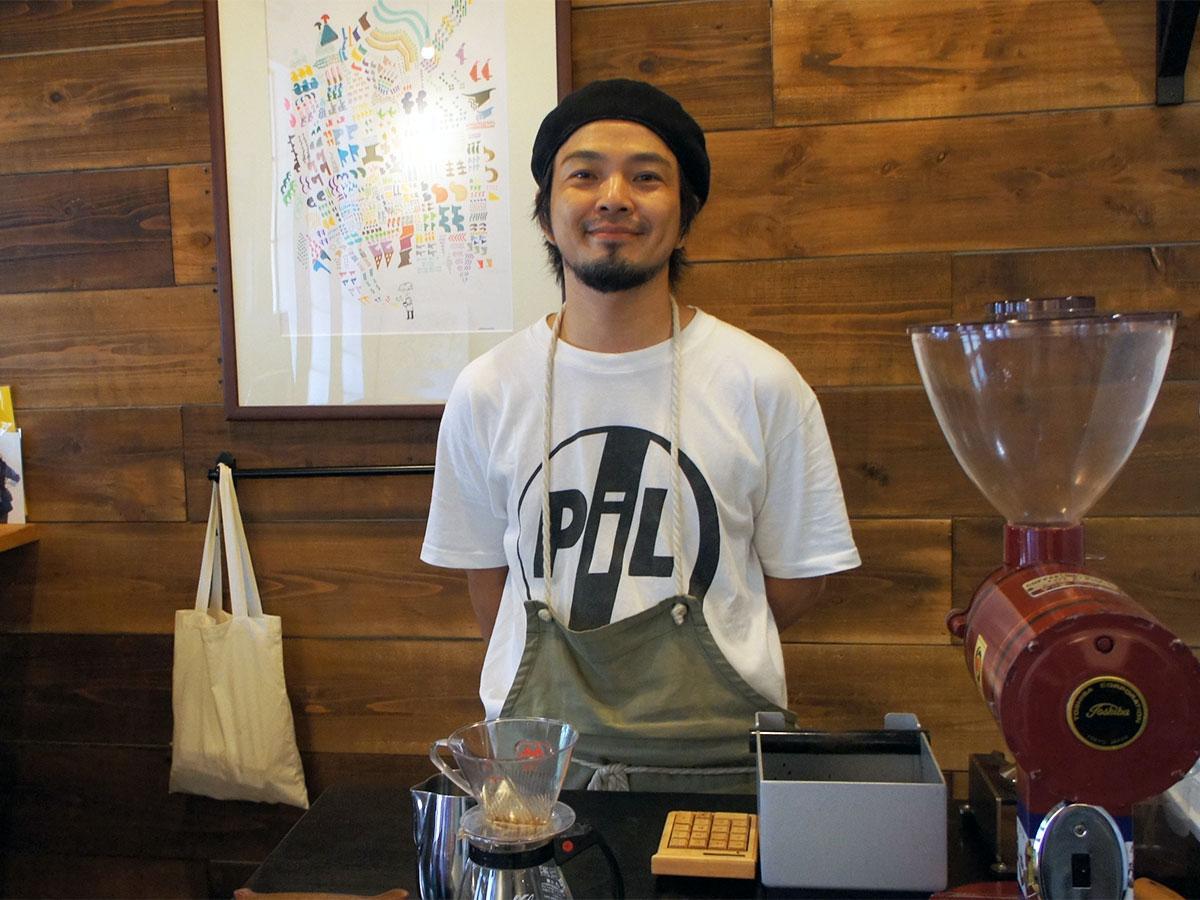 「coffee ritmos」を手掛ける吉川さん