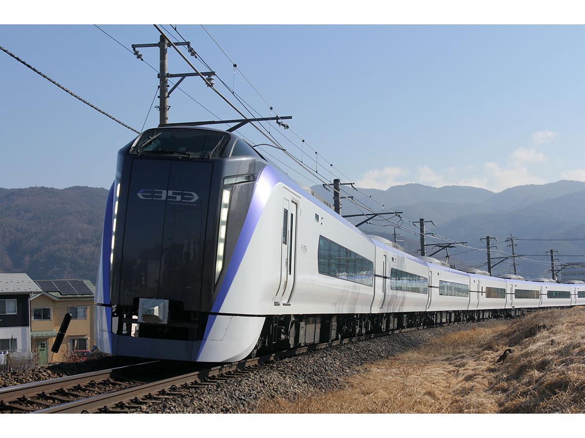 新型車両「E353形」(写真提供=JR東日本)