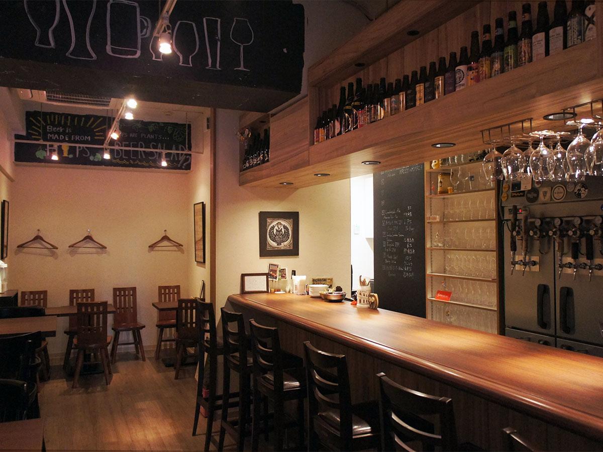 10月26日に新店舗での営業を始めた「Craft Beer Cafe PROST」
