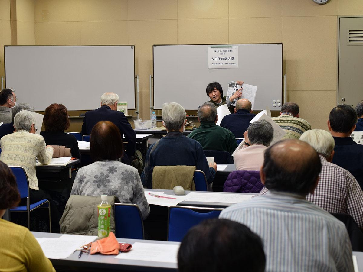 2月23日に開催された第1回講座の様子