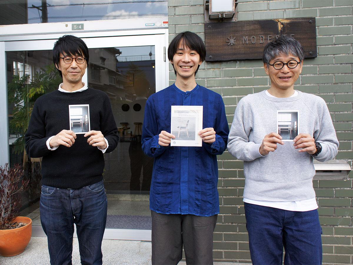「oxygen」に携わる望月さん(右)、黒岩さん(中央)、佐藤さん