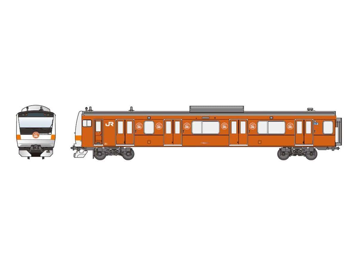 201系をモチーフにしたラッピング電車も登場する予定