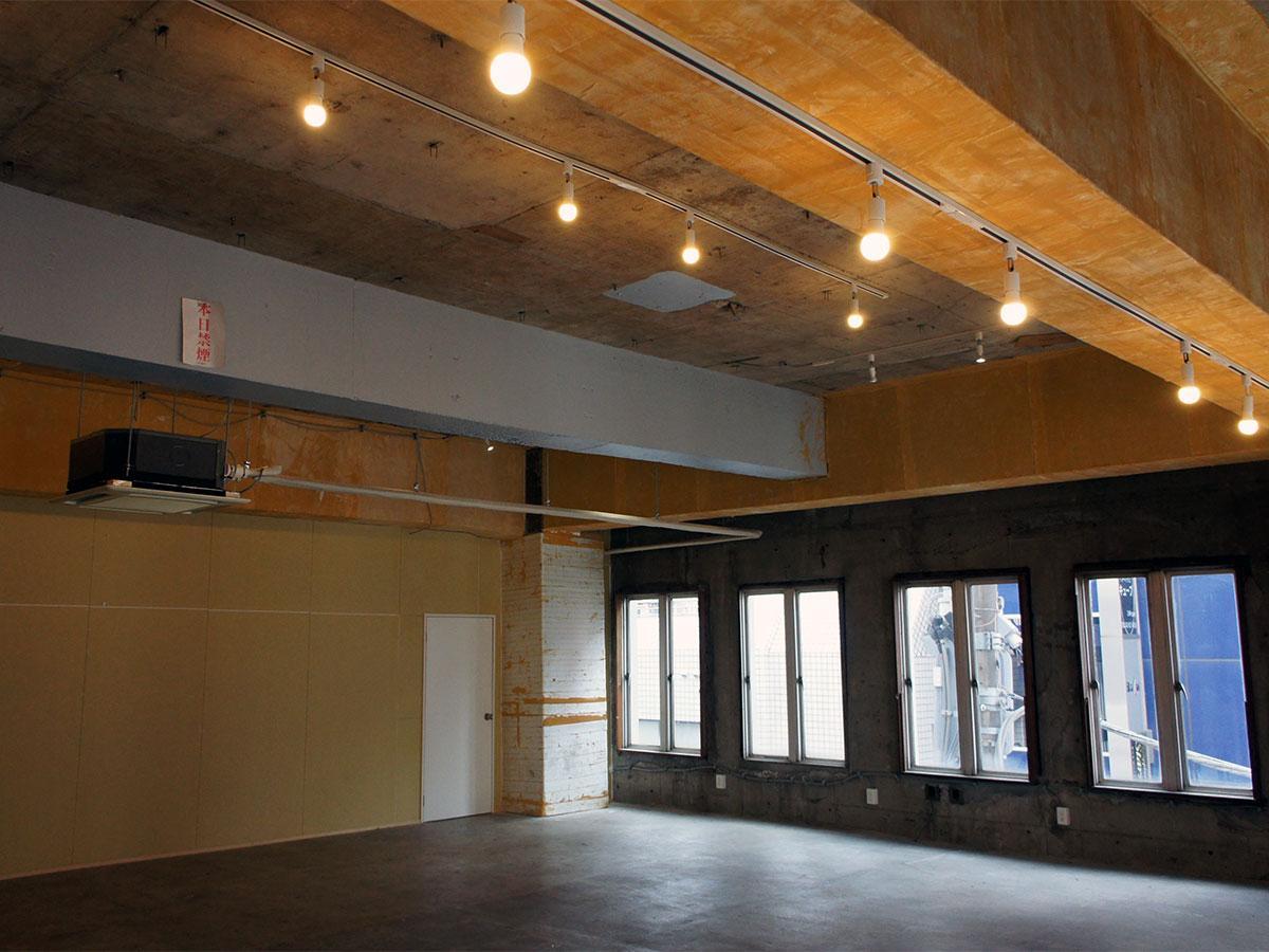 イベントや展示などに利用できる「楽廊」