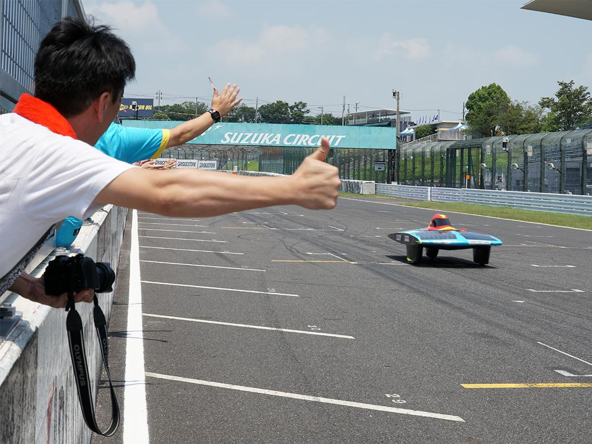 クラス2位でレースを終えた「OLYMPUS RS」