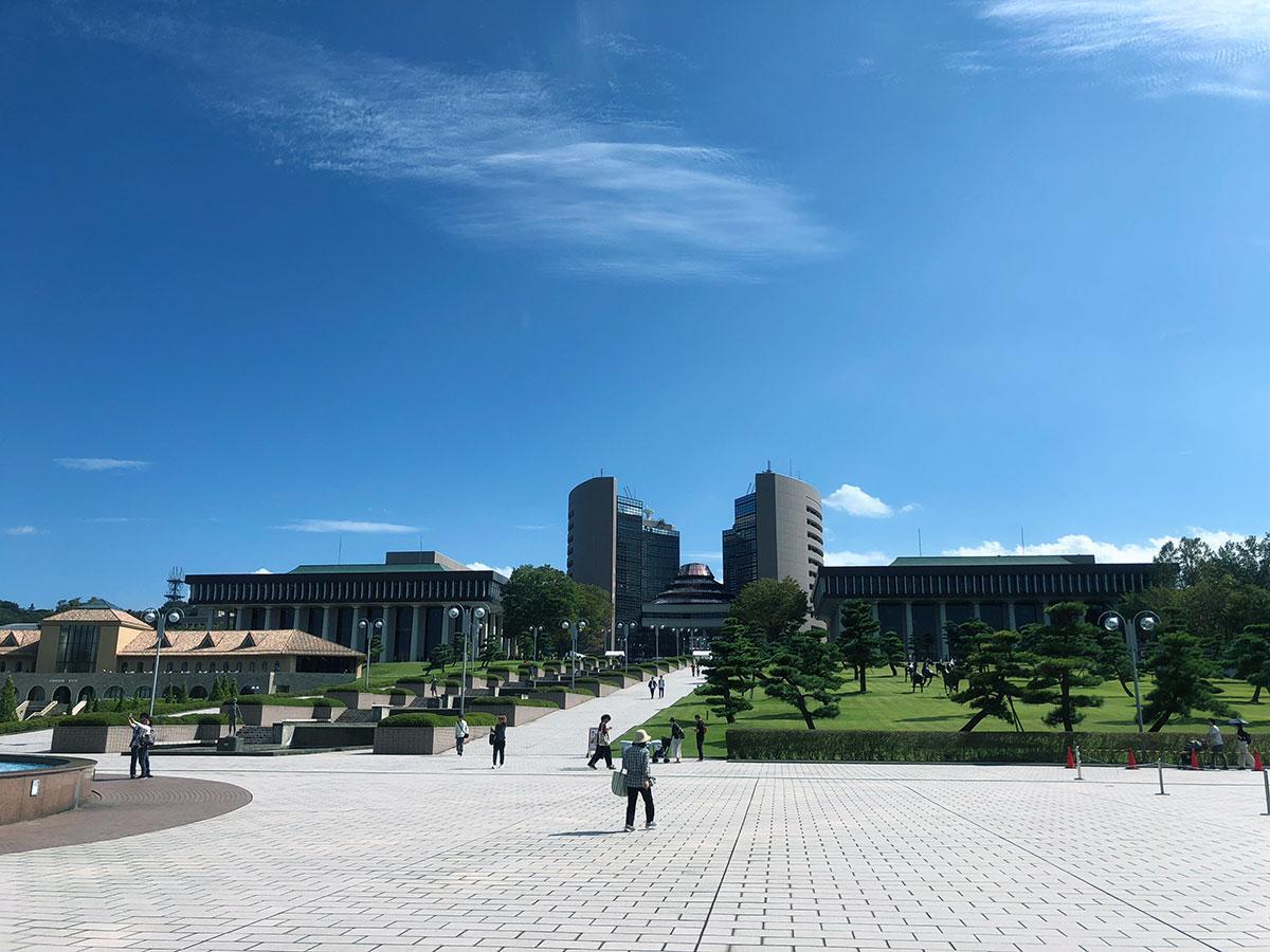 会場となる日本工学院八王子専門学校のキャンパス