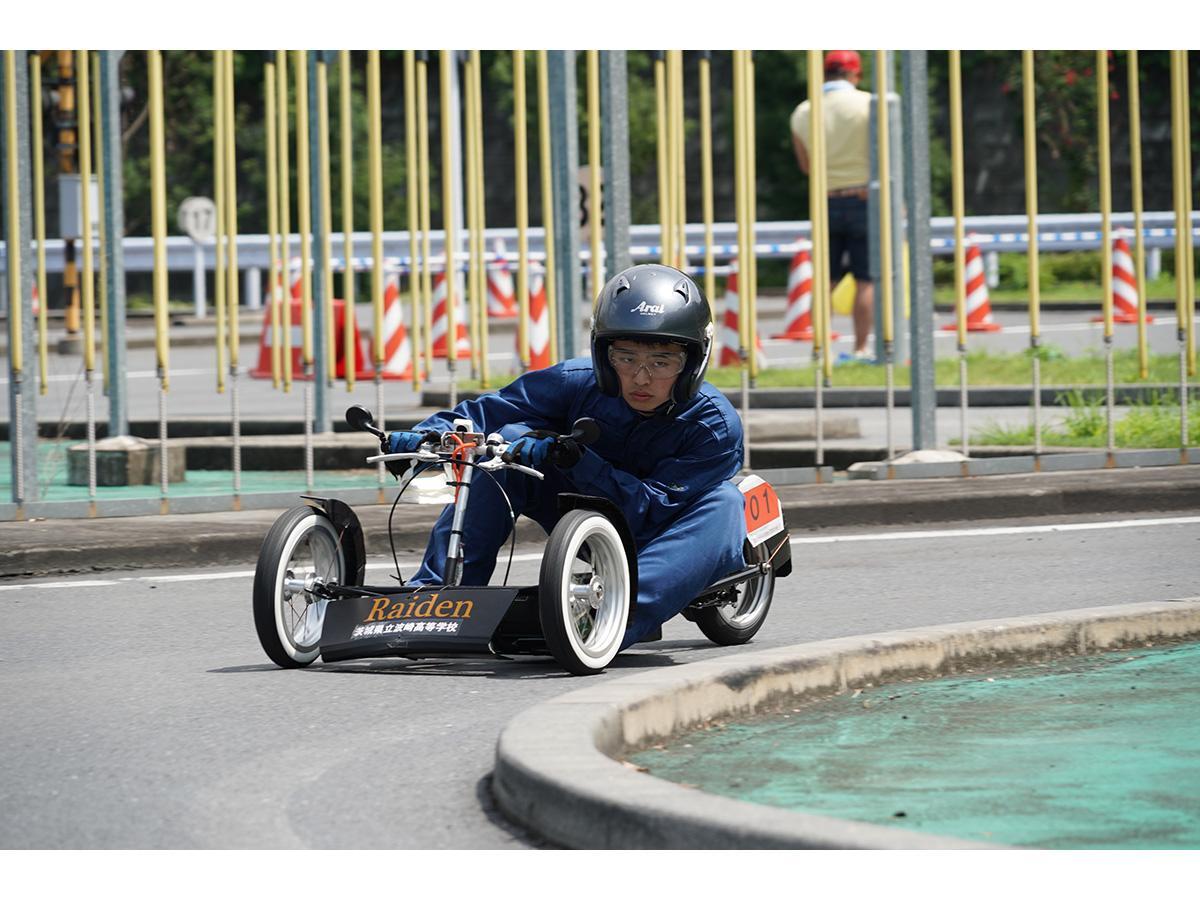 コースを走る「雷電」(写真提供=東京都市大学)
