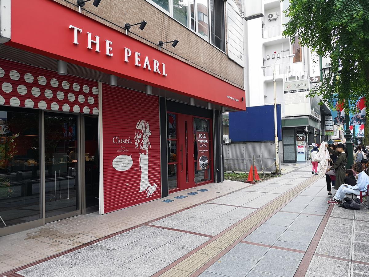 オープン前から入口前に行列ができた「THE PEARL」