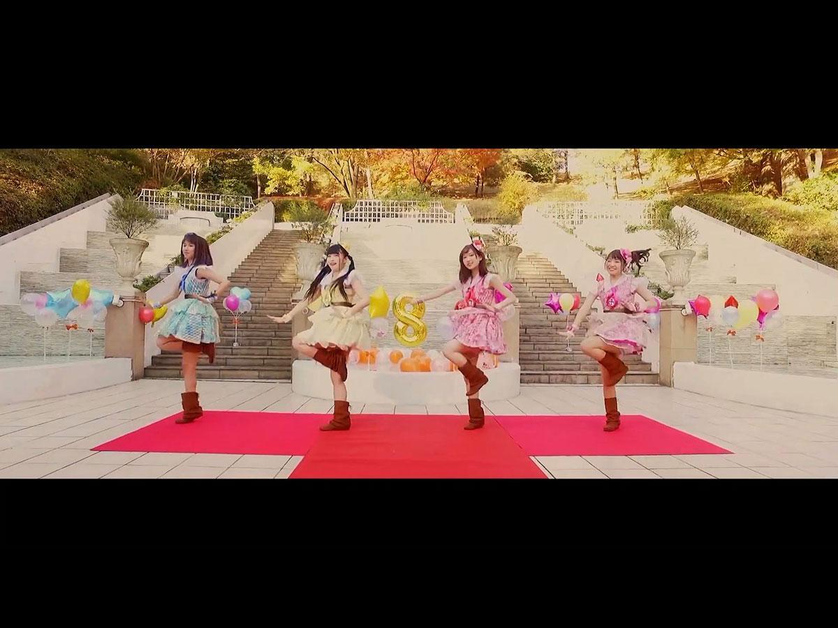 「オレンジミライ」ミュージックビデオのワンシーン