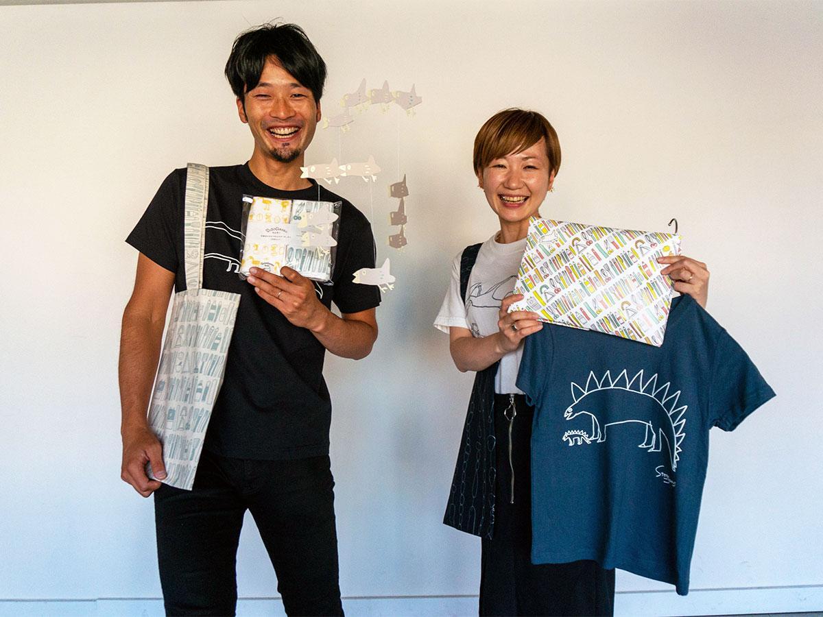 「想造楽工」を手掛けるYORIKOさん(写真右)と宮島さん